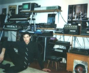 EDF studios circa 1983