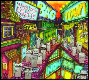 Original cover artwok by Malcolm Smith